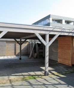 aanzicht luxe carport sloterplas